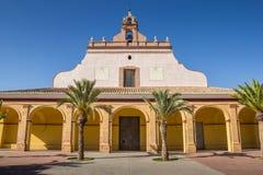 Église d'Ermita De Santa Barbara à Moncada Photographie stock