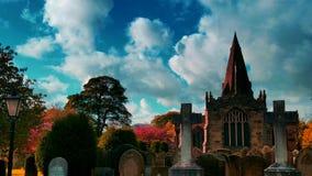 Église d'espoir, Derbyshire Photographie stock libre de droits