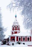 Église d'hiver Photo libre de droits