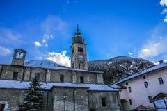 Église d'hiver Photos libres de droits