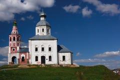Église d'Ilinskaya dans Suzdal Image libre de droits