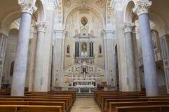 Église d'Incoronata Minervino Murge La Puglia l'Italie Photos stock
