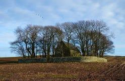 Église d'isolement Image stock