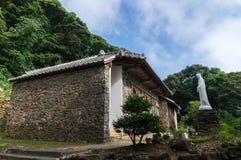 Église d'Ohno, Nagasaki Japon Photos stock