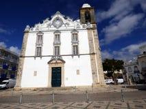 Église d'Olhao Photos libres de droits