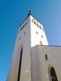 Église d'Oliviste à Tallinn Photos stock