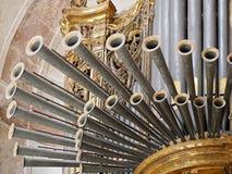 Église d'organe de Santa Engracia ou Panthéon de Lisbonne au Portugal photographie stock libre de droits