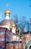 Église d'Ortodox du Transfiguration, Peredelkino, Russie Image stock