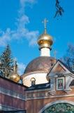 Église d'Ortodox du Transfiguration, Peredelkino, Russie Photos stock