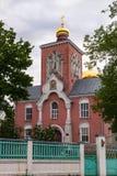 Église d'Ortodox en Lettonie Photographie stock
