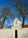 Église danoise de village Photo stock