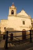 Église dans Cattabellotta, Sicile, Italie Images libres de droits