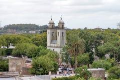 Église dans Colonia, Uruguay Photo stock