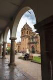 Église dans Cusco, Pérou Image stock