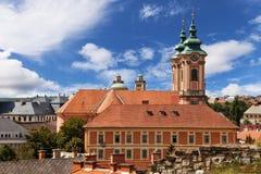Église dans Eger, Hongrie Images libres de droits