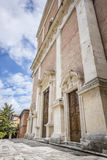 Église dans Fabriano Italie Marche Photos stock