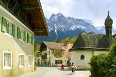 Église dans Garmich Partenkirchen Photographie stock libre de droits