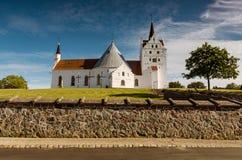 Église dans Horne, Danemark image stock