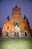 Église dans Inowroclaw, Pologne photographie stock
