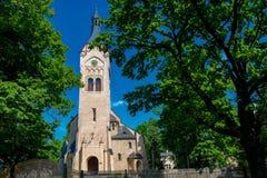 Église dans Jurmala, Lettonie Photographie stock libre de droits