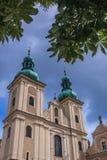 Église dans Klodzko photos stock