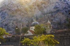 Église dans Kotor Photographie stock libre de droits