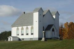 Église dans la campagne Images libres de droits