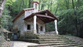 Église dans la forêt Images stock