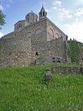 Église dans la forteresse de Tsarevets Photographie stock