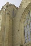 Église dans la mâchoire d'orignaux Photos stock