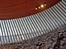 Église dans la roche photos libres de droits