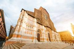 Église dans la ville de Bologna Photos libres de droits