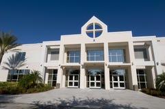 Église dans le compartiment de paume, la Floride Photographie stock