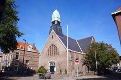 Église dans le fourgon Hollande, Pays-Bas de Hoek image libre de droits