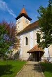 Église dans le village transilvanian Photo libre de droits