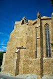 Église dans Limoux, France photo stock