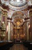 Église dans Melk Photos stock