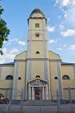 Église dans Mukachevo, Ukraine Images libres de droits