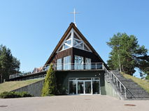 Église dans Nida, Lithuanie Image stock