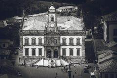 Église dans Ouro Preto, Minas Gerais, Brésil images stock