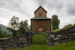 Église dans Ringebu en Norvège du sud Photo stock
