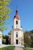 Église dans Stramberk Photographie stock libre de droits