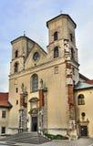Église dans Tyniec, Cracovie, Pologne photographie stock libre de droits