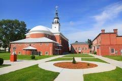 Église dans Vincennes Indiana Photos stock