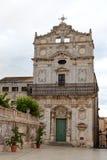 Église de Badia d'alla de Santa Lucia, Syracuse, Sicile, Italie Images libres de droits
