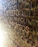 Église de Barcelone Image libre de droits