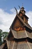 Église de barre de Gol dans le musée Oslo de gens photographie stock libre de droits