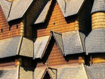 Église de barre de Heddal Images stock