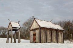 Église de barre de Viking de Moesgaard Image libre de droits