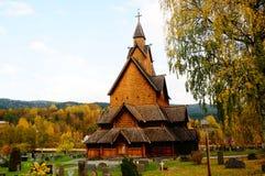 Église de barre, Norvège images libres de droits
